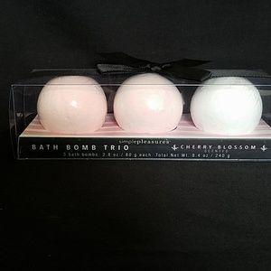 Bath bomb gift set CherryBlossom scent